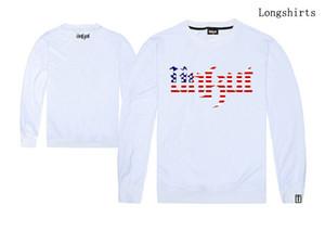 2018 new o-neck men and women long sleeve tshirt love hip hop unkut shirt hot selling print plus size good quality o-neck