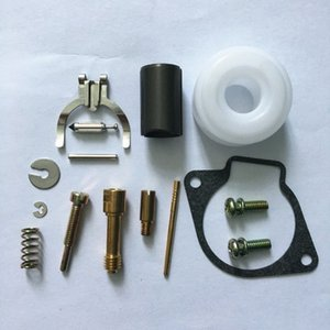 2 kits de reparação X carburador para Zenoah G4K G45L BC4310 cortador escova aparador carb reconstruir conjunto