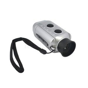 Laser All'ingrosso-palmare telemetro 7X zoom digitale Meter Gamma Strumenti di misura Golf Range Finder caccia monoculare telescopio laser Trena