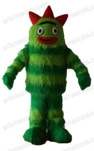 AM0490 Taille adulte Sesame Street Caractère Yo gabba gabba Costume de mascotte Costumes de fête de mascotte dessin animé