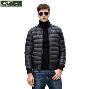 2017 Casual Brand Duck Down Jacket Men Winter Warm Coat Men's Stand Collar 600 Filling Power Down Jacket Male Windproof Parka