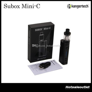 Kangertech Subox Mini-C Starter Kit authentique avec batterie Kanger TC 50w KBOX Mini-C Mod et 3.0ml Atomiseur Protank 5 100% d'origine