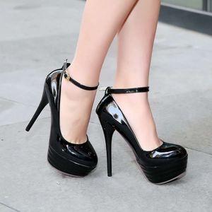 Туфли-лодочки женские лакированные новые 33 45 44 43 42 41 42 43 44 45 высокий каблук 13,5 см платформа 4 см 32-46
