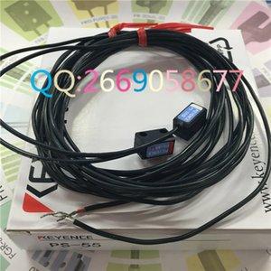 Cabeça do Sensor Transmissivo KEYENCE PS-55 Tipo de Uso Geral Interruptor Do Sensor Fotoelétrico de Alta Qualidade Garantia De Um Ano