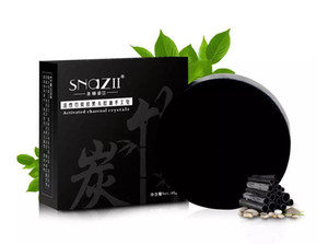 Bamboo уголь мыло ручной работы для ухода за кожей Натуральный Увлажняющий Мыло Черноголовых Remover Контроль лечения акне нефти