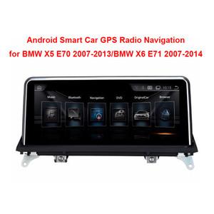 """10.25 """"تاتش الروبوت سيارة Raido GPS لسيارات BMW X5 E70 (2007-2013) / BMW X6 E71 (2007-2014) المخابرات سيارة لاعب الوسائط المتعددة"""