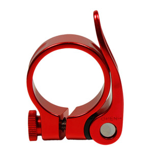 로드 자전거 MTB 시트 포스트 클램프 사이클링 안장 퀵 릴리스 합금 34.9mm 무료 배송