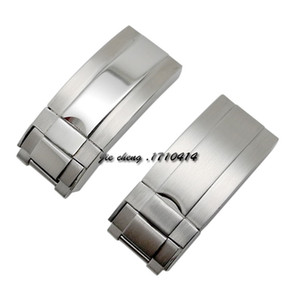 16mm x 9mm NEW High Quality Stainless steel Watch Bands strap Buckle Deployment Clasp FOR ROL bands
