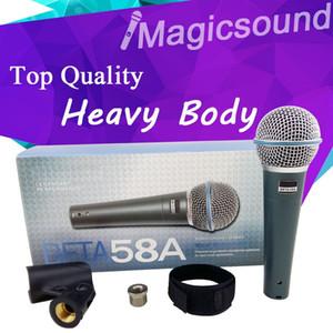 Upgrade Version BETA58 !! Professionelles kabelgebundenes Super-Nieren-Hand-Karaoke-Mikrofon mit dynamischem Mikrofon BETA58 Beta 58 A