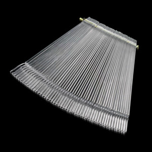 Wholesale- 50pcs/set False Nail Art Tips Stick Display Practice Fan Board Transparent nail tools100% Brand New