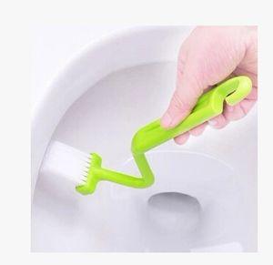 مرحاض على شكل الخامس البريد المجاني الحمام مباشرة / الأسرة داخل فرشاة الزاوية الجديدة فرشاة المرحاض عازمة فرشاة تنظيف