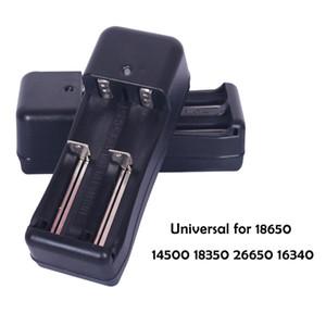 배터리 14500 18350 26650 충전식 리튬 - 이온에 대한 충전 18650 배터리 충전기 미국 플러그 범용 듀얼 더블 슬롯 벽 충전기 USB