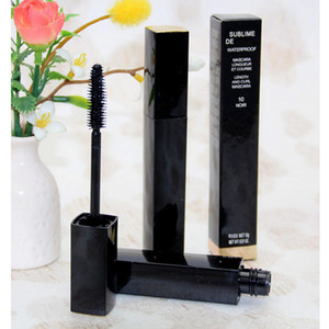 Envío gratis 12pcs / lot nueva SUBLIME Beauty Waterproof Mascara Black 6G