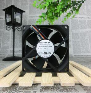 Ventilateur de refroidissement de châssis FOXCONN PVA080G12H-P00 DC12V 0.60A 80 * 80 * 25 (5 broches 4 fils)