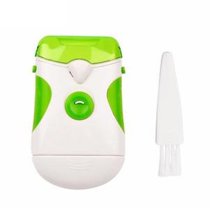 Yeni Profesyonel Yeşil Clipper Elektrikli Tırnak Giyotin Çift kullanımlı Tırnak Makası Tırnak Kesici Dosya Manikür Pedikür Seti