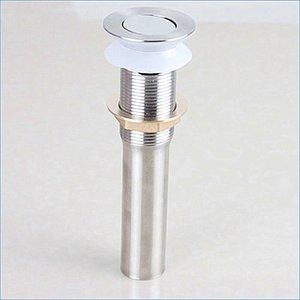 Stainless stee Pop up Waste، يستخدم في حوض التصريف، Drainer Drainer، مع الفائض، الشحن مجانا J14226