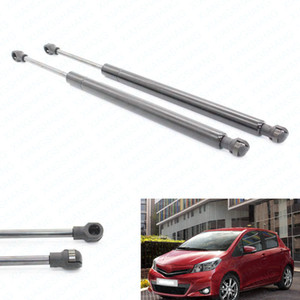 2pcs / set Fits voiture pour Toyota Yaris 2007 2008 2009 2010-2011 Hatchback Gas Lift Struts Prise en charge Prop Rod Arm Chocs