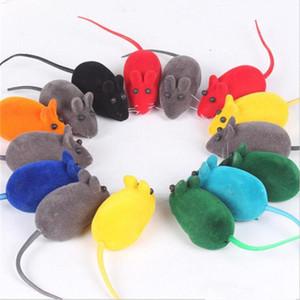 NUOVO piccolo gomma giocattolo del mouse di rumore giocattoli suono Squeak Rat Parlare Riproduzione regalo per Kitten Cat Giocare con 6 * 3 * 2.5cm 500pcs IB281