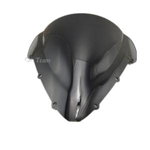 Envío gratis motocicleta doble burbuja parabrisas parabrisas CBR 600 F4i 2001-2007 03 04 05 negro CBR600