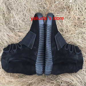 2019 Yeni Erkek 750 Blackout Dış Mekan Sneaker, indirim Ucuz Sıcak Satış 750 Ayakkabı, Kaykay Ayakkabı, Sneakeheads Ayakkabı Yüksek Ayakkabı