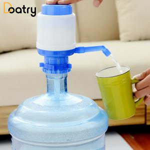 Toptan-5 Galon Şişelenmiş Su Içme Ideal El Basın Kılavuzu Pompa Dağıtıcı Musluk Araçları Taşınabilir Ev Açık Ofis Drinkware Araçları