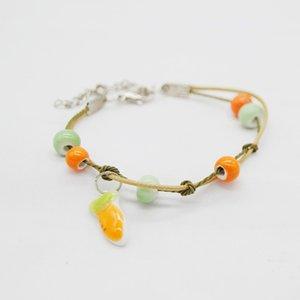 Chinois style vintage originale Céramique Perles Bracelet pour les femmes Bonne lapin chanceux mignon Bracelet Femme chanceux Bijoux Petite amie cadeau