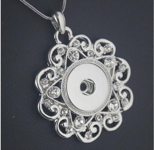 2017 новая мода Noosa кулон ожерелье, пригодный для Noosa куски Оснастки кнопки DIY ювелирных изделий