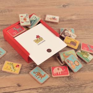 Spedizione gratuita Svezia Uncle Wood Inglese memoria di parola scacchi oltre 3 anni Early Learning Puzzle bambino Giochi da tavolo Giocattoli