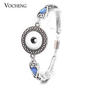 VOCHENG NOOSA Snap Charms Bracelet 5 스타일 자석 걸이 18mm 빈티지 호환 보석 NN-467
