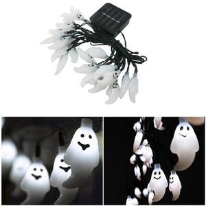 Edison2011 8 режимов водонепроницаемый солнечной энергии призрак лампы 30 светодиодные строки свет Звездный для Hallowmas Рождество