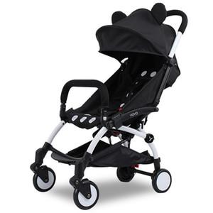 Оптовая продажа-новая складная детская коляска, 0 -- 36 месяцев коляска надувные колеса из натурального каучука четыре колеса