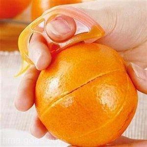 2PCS كيتشن فتاحة أداة القطاعة الطعام البرتقال الليمون فاكهة مزيل الجلد مقشرة # R21