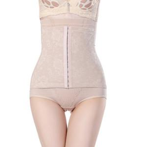 2 ألوان أنثى بعقب رفع البطن اللباس الداخلي سلس جبين مشبك حزام التخسيس سراويل عالية الخصر تشكيل سراويل داخلية الإناث