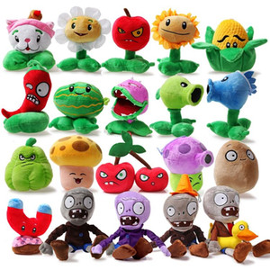 20pcs set Stuffed Plants vs Zombies Plush Toys Fashion Games Plants Vs Zombies PVZ Soft Toys Doll for Children Gifts Party Toy
