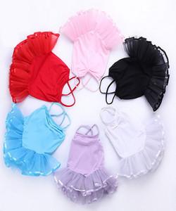 Vestiti per bambini Summer Condole Cintura gonna Ragazze Ballet Fleabane Gonna Ballare New Child Child Garza Dress