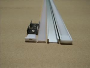 Ücretsiz Kargo 5050/5630 şerit 10-12mm pcb LED bar hafif 2M / adet 100pcs / lot için alüminyum profil anotlanmıştır