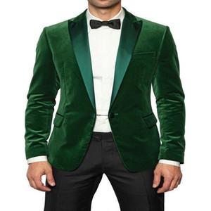 Оптово-размер M-3XL Denim бизнес Формальное Мужские костюмы Blazer Groom Смокинги Лучший костюм человека Обручальные дружки Жакеты