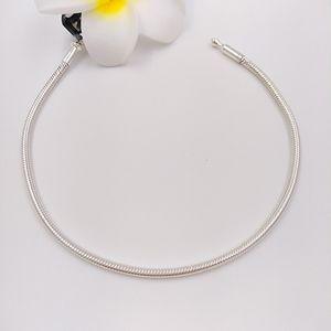Takı 596000 Yapımı için 925 Gümüş Fit Avrupa Pandora Stil Marka Charms Boncuk 16-50cm Esans Bilezikler Yapımı