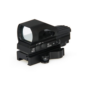 PPT New Arrival 4 Reticle Red Dot Scope Reticle Style Red  Green Dot for Hunting Free Shipping CL2-0093
