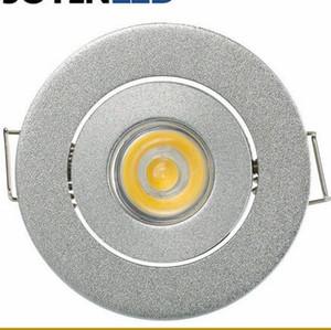 1W 3W Weiß / Warm MINI Round 3W High Power LED Deckeneinbauleuchte Lampen LED Downlights für Wohnzimmer Schrank Schlafzimmer