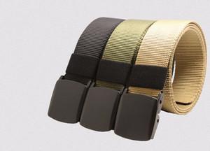 Automatic Buckle Nylon Belt Male Army Tactical Belt Jeans Mens  Waist Designer Belts Men High Quality Strap Ceinture Femme