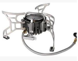 BULIN Aluminiumlegierung Split-Typ im Freien 2-3 Personen Höhenlage Gas Ofen Öfen BL100-T4-A Leistung: 3500W