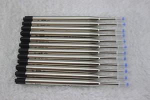 Venta al por mayor-20 PC / porción, (negro) repuesto de la pluma de BALLPOINT para MONTE, nuevas barras de la pluma del diseño / precio al por mayor