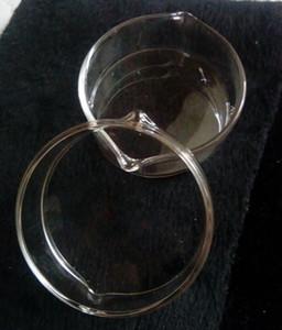 Recipientes de cera cuencos colector de néctar 14 mm plato de vidrio cenicero de aceite recipiente de cera de vidrio pequeño barato al por mayor EE. UU.