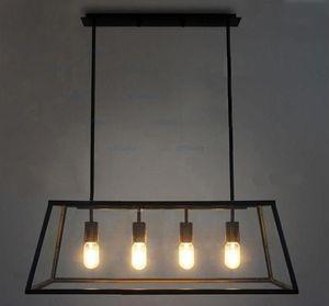 Design Room Lamp Chandelier Living FILAMENT CHANDELIER Filament Box Glass Modern Edison Bulb Loft Pendant RH Aesak
