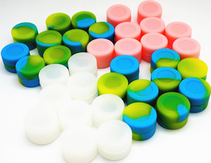 Contenedores de cera de 3ML contenedores de silicona contenedor de silicona contianer para cera de silicona tarros de cera dab contenedor 26mmX17mm