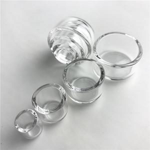 Nueva parte superior inferior plana Sartén térmica Cuarzo Phat Tazones Insertar Drop Honey Bucket para XL 25 mm 2 mm Tubos de agua de uñas de Banger grueso