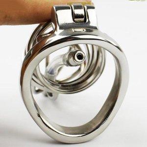 Nuovo design in metallo maschile ULTIMO ACCIAIO Chastity Belt Chastty Devices Devicity # R2 DDMAM