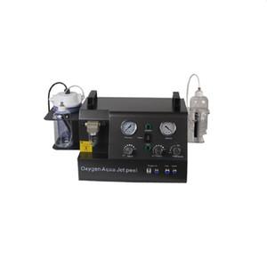 Machine faciale d'oxygénothérapie d'oxygène portable de jet d'oxygène avec hydradermabrasion Silicone Hydrodermabrasion eau Microdermabrasion