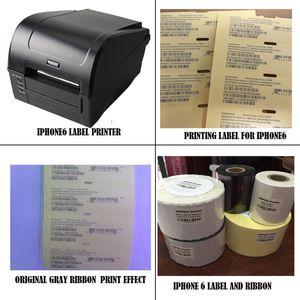 Professional Nouvelle boîte téléphonique étiquette IMEI étiquette Sticker Sticker Solution d'imprimante pour iPhone 5S à 11 Pro Max